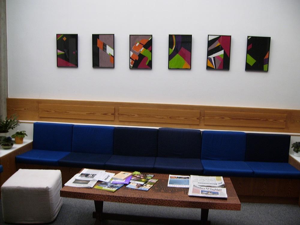 Ausstellung im Haus der Begegnung, Ilanz GR (2012)